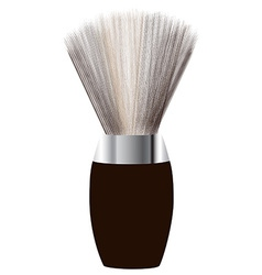 Shave brush vector