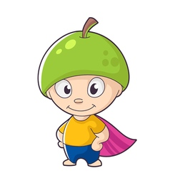 Fruit hero vector