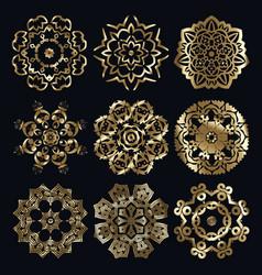 Ancient arabian motif vector