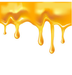 Honey melted background vector
