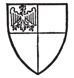 Phelip lord bardolf coronation of edward i in vector