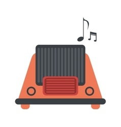 Radio music communication device vector