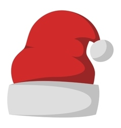 Santa christmas hat vector