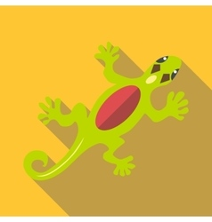 Salamander icon flat style vector