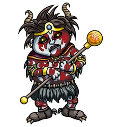 Evil Shaman vector image