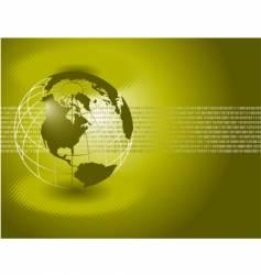 globepool vector image vector image