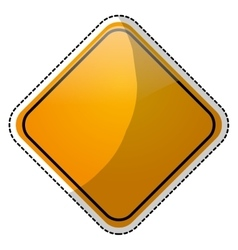 Road sign icon image vector