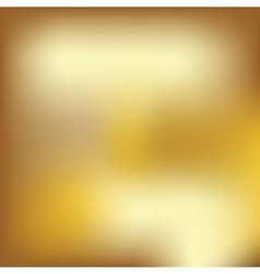 Abstract blured gold background vector image