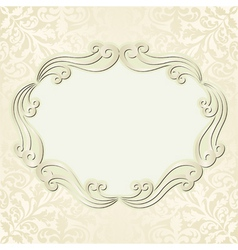light beige background vector image