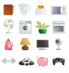 objects vector image vector image