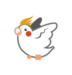 Bird icon animal design graphic vector