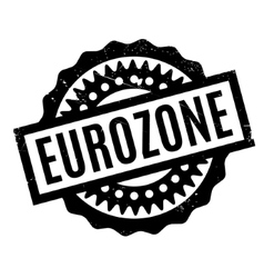 Eurozone rubber stamp vector