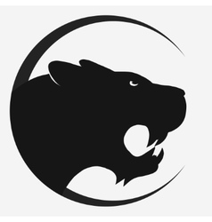 Tiger logo vector image vector image
