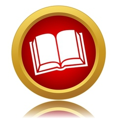 Red book icon vector image