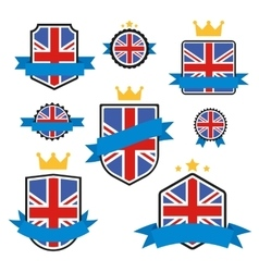 World flags series flag of united kingdom vector