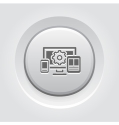 Website optimization icon vector