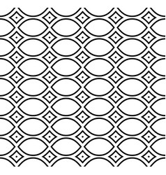 Mesh pattern repeat ornamental texture vector