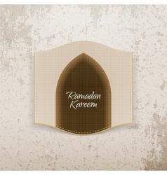 Ramadan kareem festive banner vector