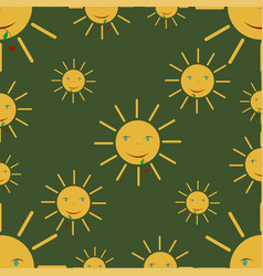 summer - sun vector image