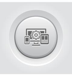 Website optimization icon vector