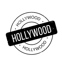Hollywood rubber stamp vector