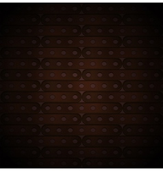 Metallic background of long plates vector