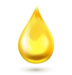 Realistic oil drop vector