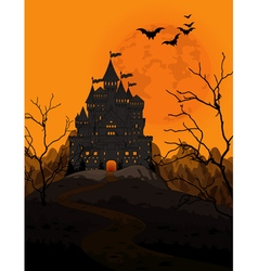 Halloween kingdom vector