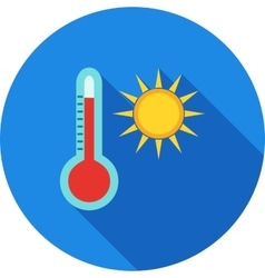 Hot weather vector
