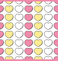 Heart lover symbol background design vector