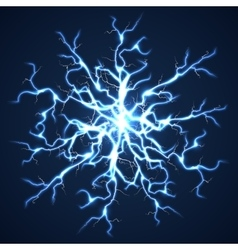 Thunder bolts dark background vector