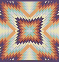 Seamless tribal pattern geometrical ornament in vector