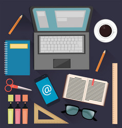 Stuff for studying and business useful things for vector