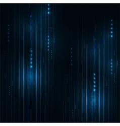 Abstract blue aircraft technology communicate vector