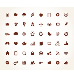 App icons vector image vector image
