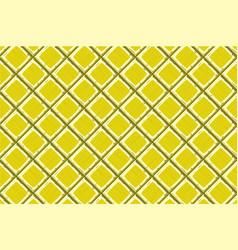 Cartoon hand drown yellow old diagonal seamless vector