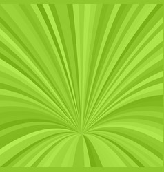 Curved ray burst background - graphic from curved vector