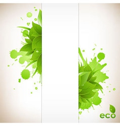 Design eco friendly vector