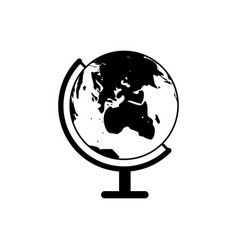 Globe of earth icon vector
