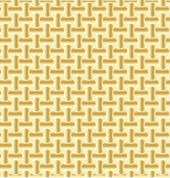 gold background pattern vector image vector image