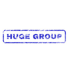 Huge group rubber stamp vector