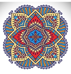 indian Mandala vector image vector image