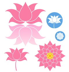 Lotus vector