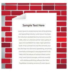 text frame vector image