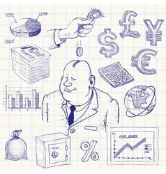 Finance vector image