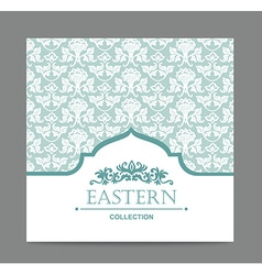 Vintage card design for greeting card invitation vector
