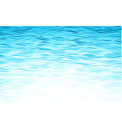 blue waves background vector image vector image