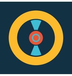 Disc design vector
