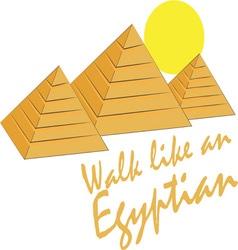 Like an egyptian vector