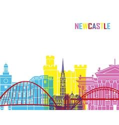 Newcastle skyline pop vector